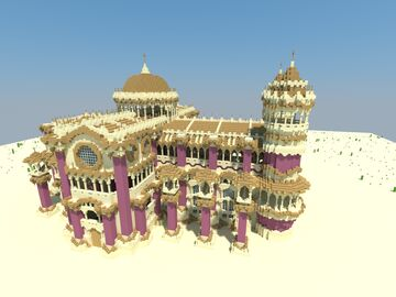 Cathedrale Of Ahorean Minecraft Map & Project