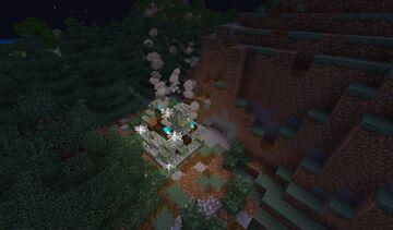 Create Mod hidden base! Minecraft Map & Project
