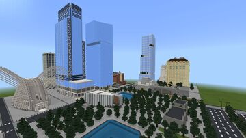 Five World Trade Center (2021) Minecraft Map & Project