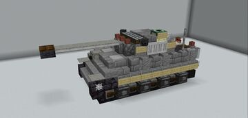 Pz.Kfpw V Panther Ausf.G (Redux) Minecraft Map & Project