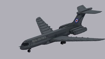 Vickers VC10 Minecraft Map & Project