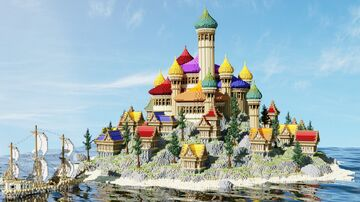 Xaelaria Palace | Aderlyon Build Team Minecraft Map & Project