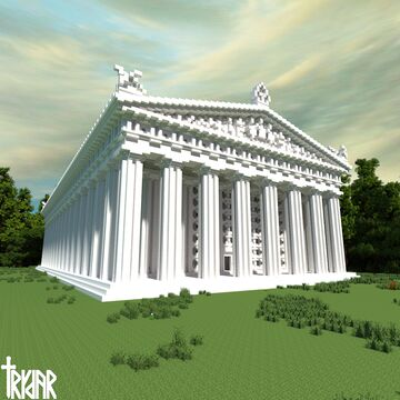 The Parthenon Minecraft Map & Project