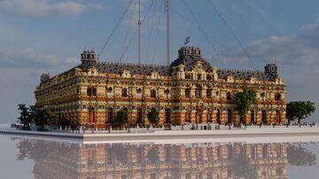 Palacio de Aguas Corrientes, Buenos Aires Minecraft Map & Project