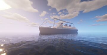 RMS Queen Mary (Exterior Only) Minecraft Map & Project