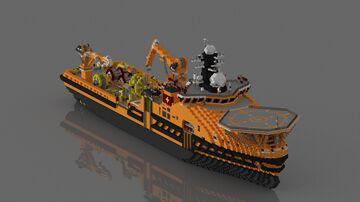 Submarine Rescue Vessel - Hải Nhãn , Vietnam People's Navy Minecraft Map & Project
