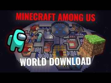Among Us The Skeld Map Minecraft Map & Project