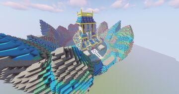 Japanese Style Pokemon Elite Four (Commissioned by Magma) Minecraft Map & Project