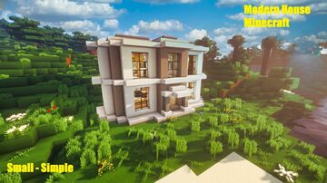 Minecraft | How To a Make Modern House - Tutorial Minecraft Map & Project
