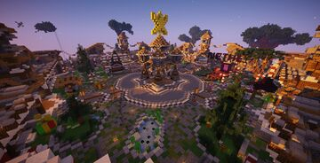 HCF Spawn - Medieval Theme [FREE DOWNLOAD] Minecraft Map & Project