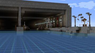 1:1 Custom U-Boat Bunker Minecraft Map & Project