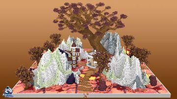 HCF Glowstone Mountain Minecraft Map & Project