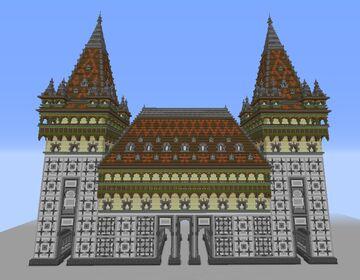 A gate of Gyulafehérvár- fantasy Transsylvanian renassiance build Minecraft Map & Project