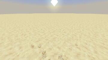 Sandstone Flat World | Bedrock Edition Minecraft Map & Project