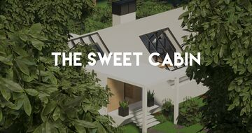 THE SWEET CABIN Minecraft Map & Project