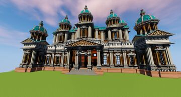 First Mega Structure Minecraft Map & Project