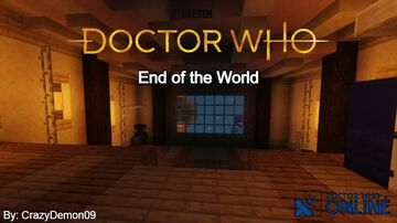 Platform One - End of The World - Doctor Who Online Minecraft Map & Project