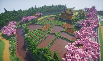 Farmers in Japan  Edo Period Minecraft Map & Project