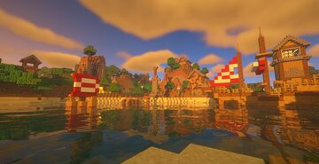 Pack.Png Village Minecraft Map & Project