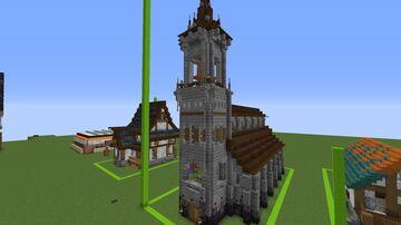 Spawn Church Minecraft Map & Project