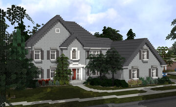 Canton Hills McMansion 2 | TRS Minecraft Map & Project
