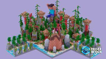 Oriental HCF Spawn Minecraft Map & Project