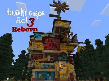 Hello Neighbor Act 3 Reborn! Minecraft Map & Project