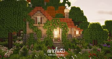 Flower Forest Cottage 🌷🌼 Minecraft Map & Project