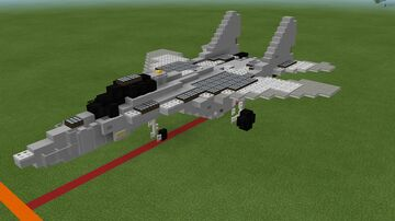 MIG-29 Minecraft Map & Project