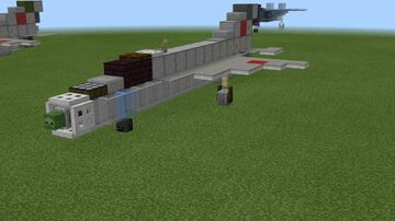 1.5:1 scale MiG-21 + some variants Minecraft Map & Project
