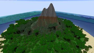 Small volcanic island Minecraft Map & Project