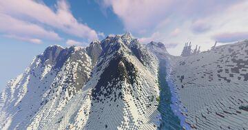 The Frozen Wilderness Minecraft Map & Project