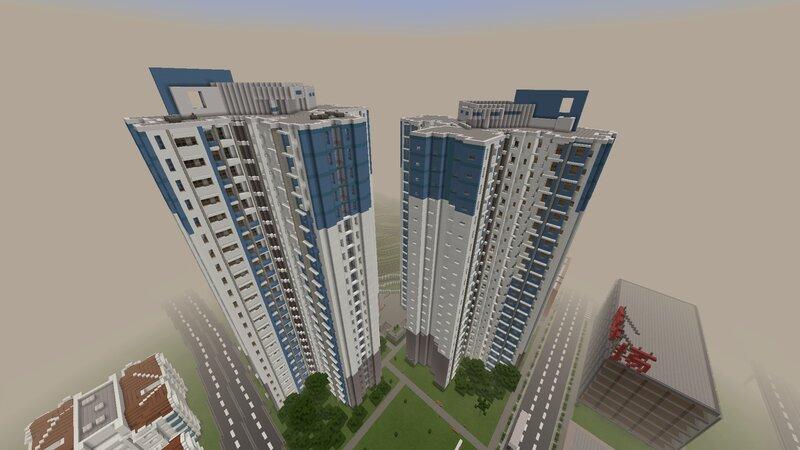 New Public Housing Towers Based on Choi Tak Estate