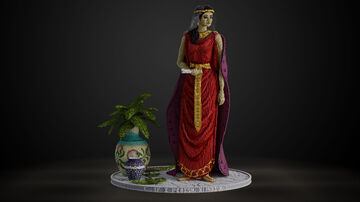 Queen Esther Organic Minecraft Map & Project