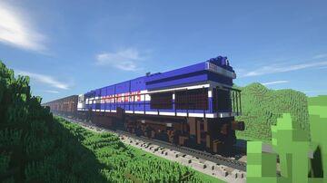 WDG4 locomotive Minecraft Map & Project