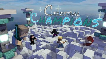Celestial Champions | Sumo PvP Minigame | 2-50 players | Realms Map | 1.16.4/1.16.5 | By Command Realm Minecraft Map & Project