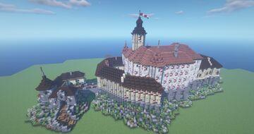 Castle Regenberk Minecraft Map & Project