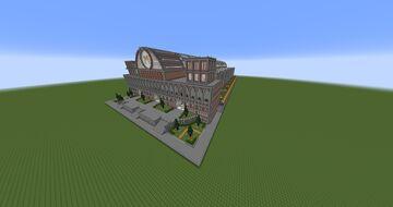 Meriland Train Station Minecraft Map & Project