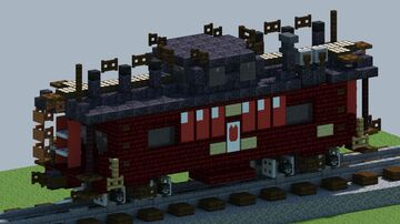 Pennsylvania Railroad N8 Caboose [With Download] Minecraft Map & Project