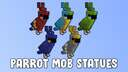 Parrot Mob Statues Minecraft Map & Project