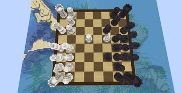 Chess! Minecraft Map & Project