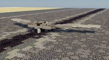 RQ-170 Sentinel - 1.5:1 Scale Minecraft Map & Project