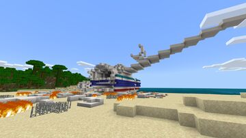 """""""LOST"""" TV Series Recreation Minecraft Map & Project"""