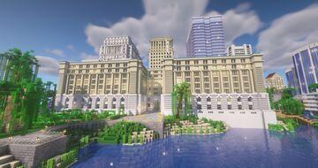 Custom House - Parks Canada Building Montréal Minecraft Map & Project