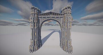 Medieval Inspired Bridge Minecraft Map & Project