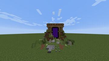 🟪 Portals To Nether 🟪 Minecraft Map & Project