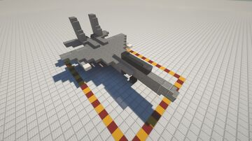 Compact F-15 Jet with Weapon Minecraft Map & Project