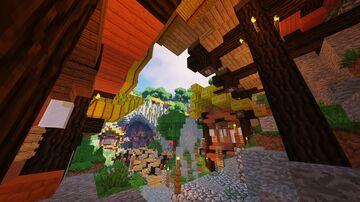 [OLD] Tribu Gerudos - By ClemsDX (Defi Build #2 - Aurelien_Sama) Minecraft Map & Project