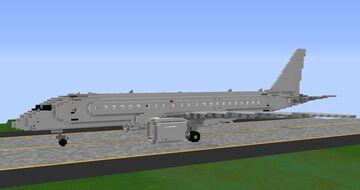 Embraer E-190E2 - 3:1 Scale Minecraft Map & Project