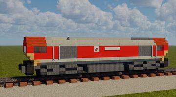 British Rail Class 66 Minecraft Map & Project